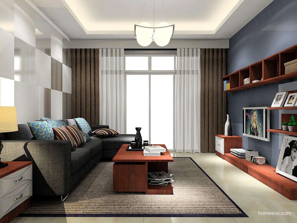挪威月色客厅家具D15549
