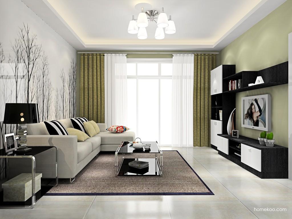 简约主义客厅家具D15551