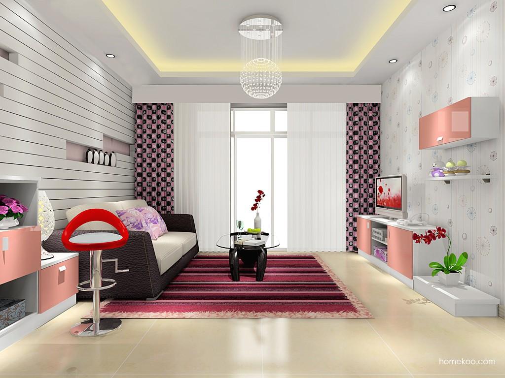 浪漫主义客厅家具D15556