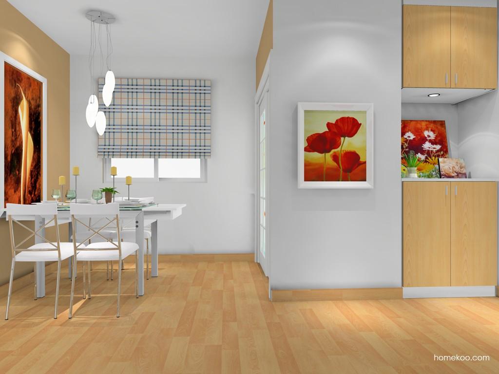 新实用主义餐厅家具E14677