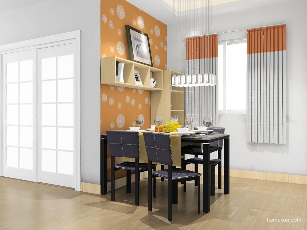 北美枫情餐厅家具E14685