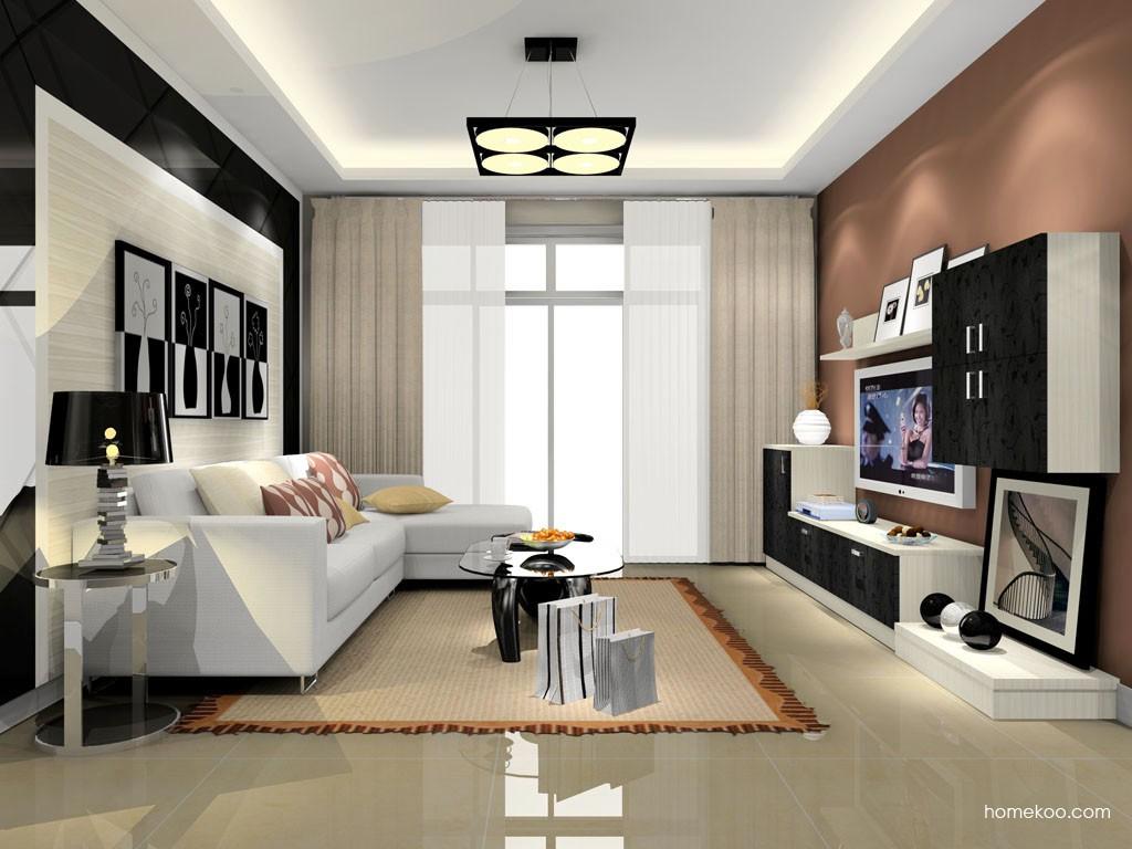 米兰剪影客厅家具D15560