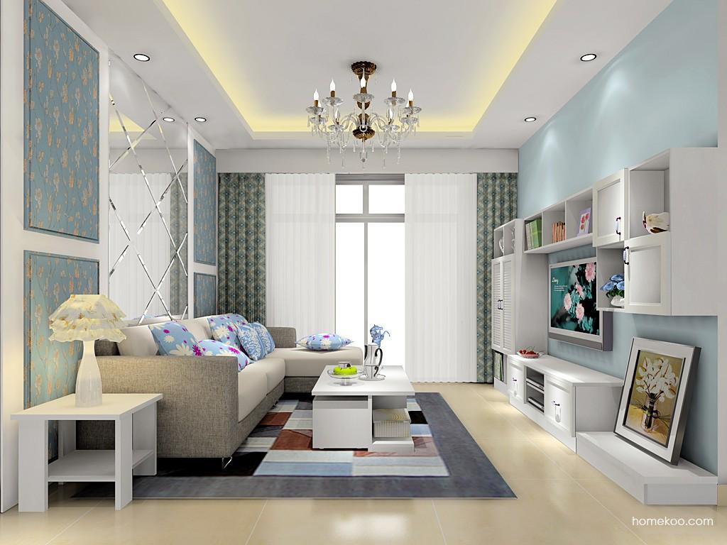 韩式田园客厅家具D15565