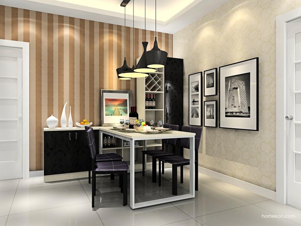 米兰剪影餐厅家具E14716