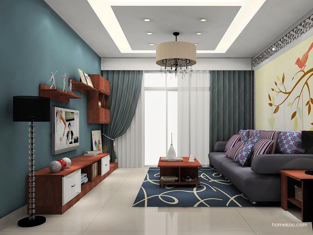 挪威月色客厅家具D15573