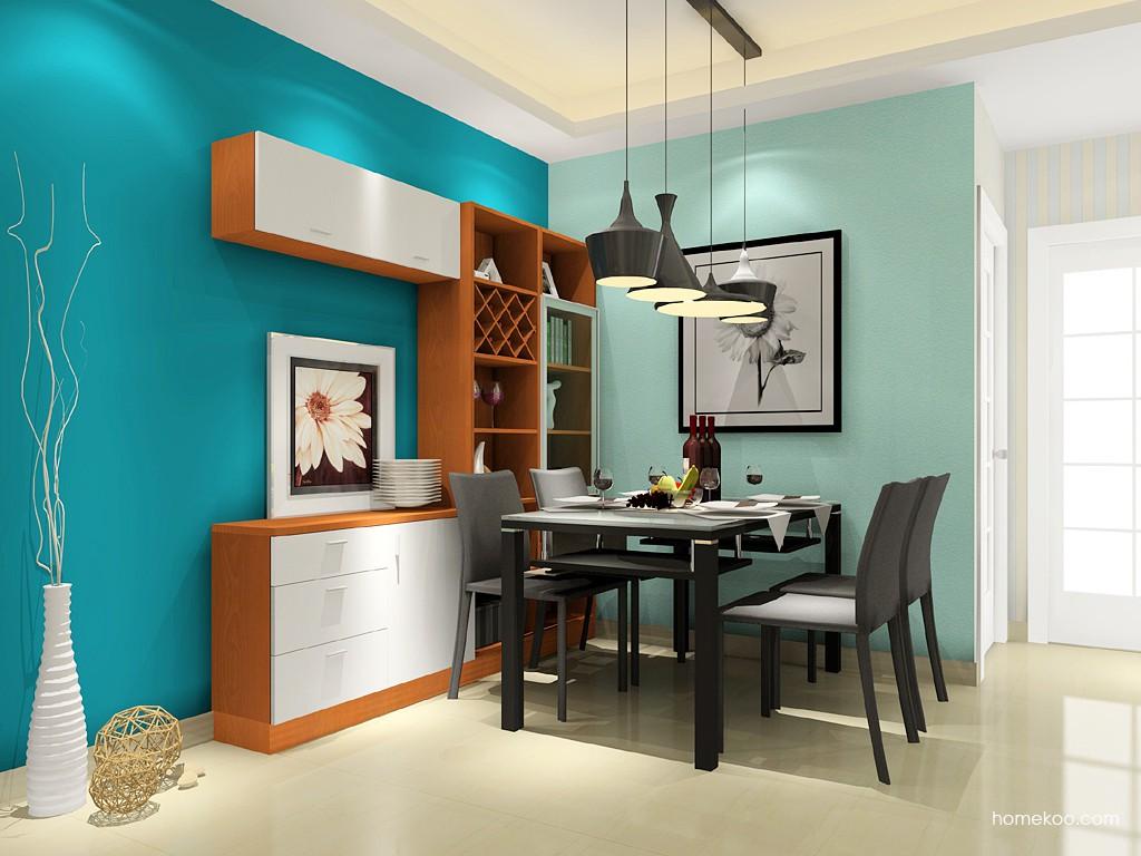 新实用主义餐厅家具E14729