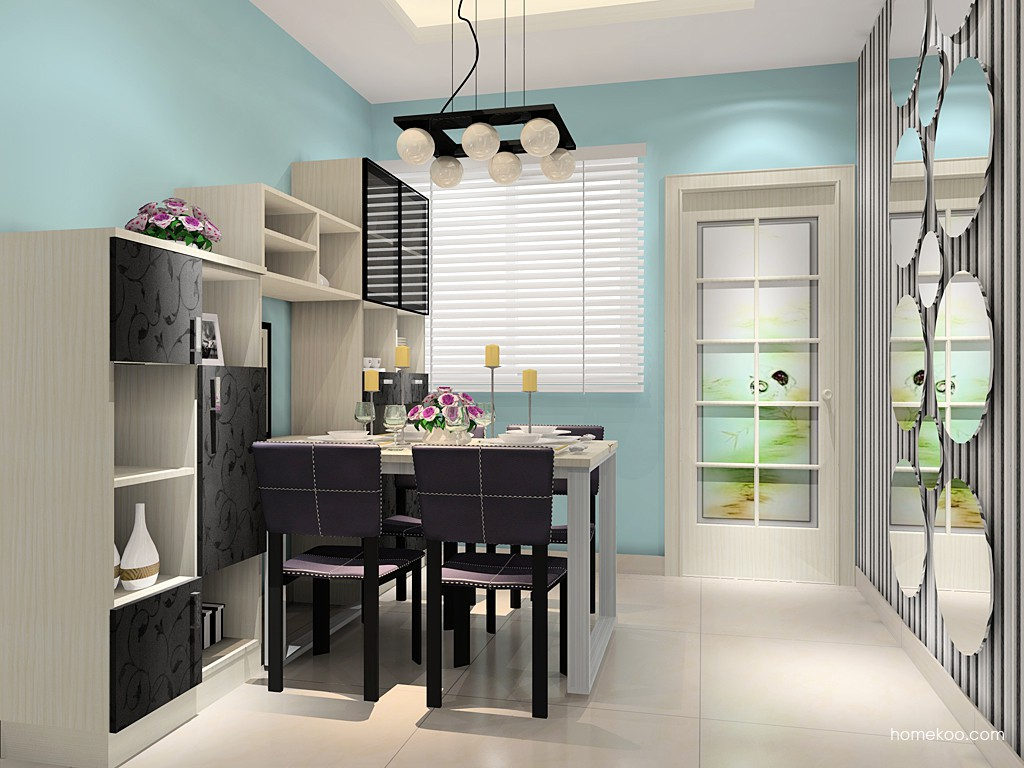 米兰剪影餐厅家具E14730