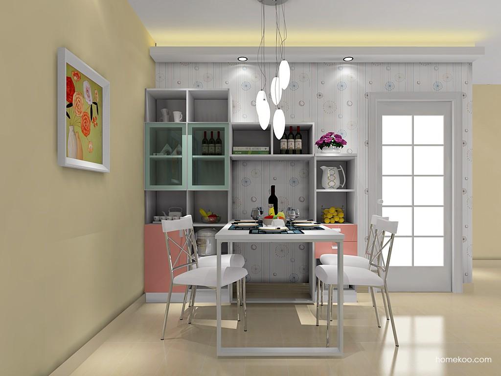 浪漫主义餐厅家具E14737