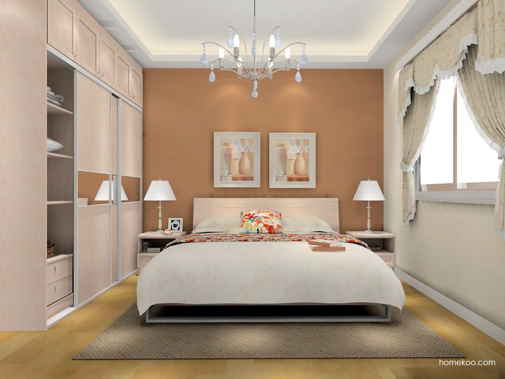 北欧阳光卧房家具A15712