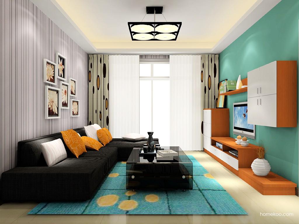 新实用主义客厅家具D15592