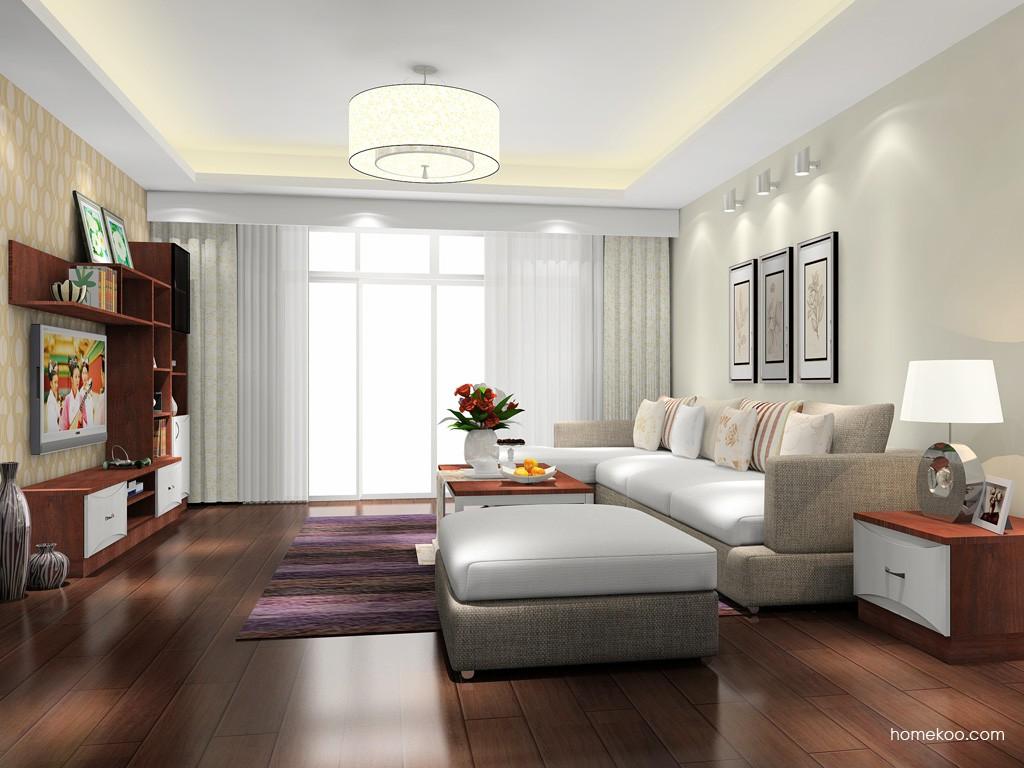 挪威月色客厅家具D15594