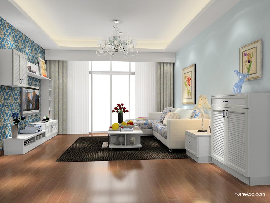 韩式田园客厅家具D15595