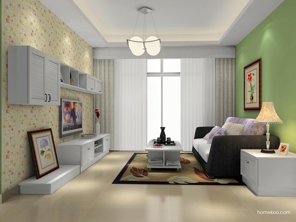 韩式田园客厅家具D15597