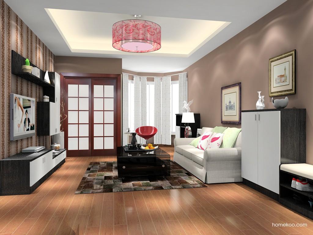 简约主义客厅家具D15598