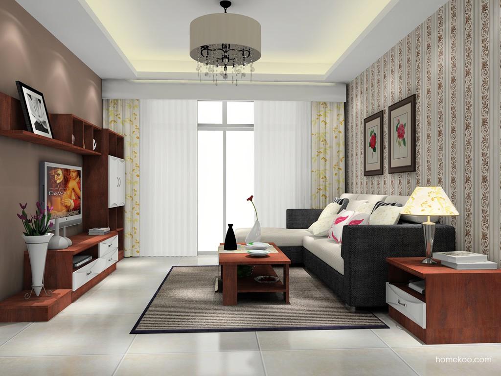 挪威月色客厅家具D15599