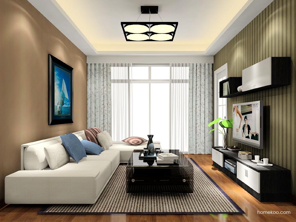 简约主义客厅家具D15601