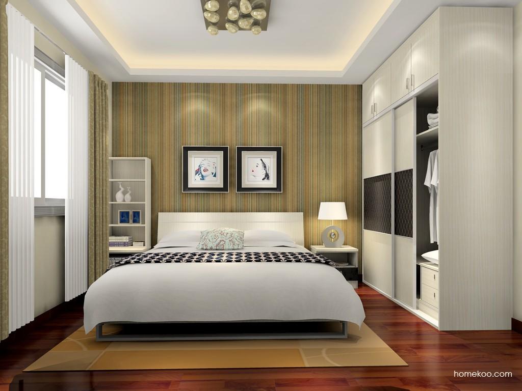 米兰剪影卧房家具A15724