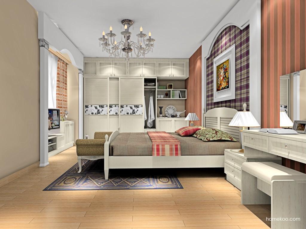 英伦印象卧房家具A15733
