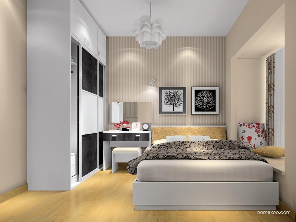 简约主义卧房家具A15741