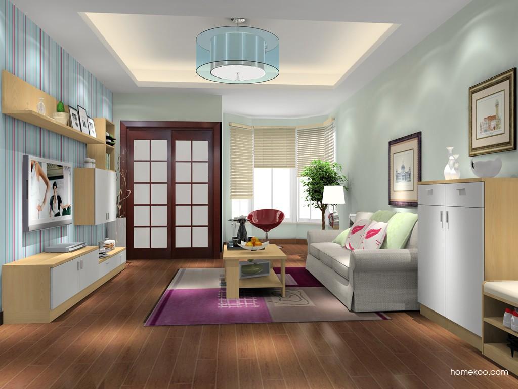 新实用主义客厅家具D15612
