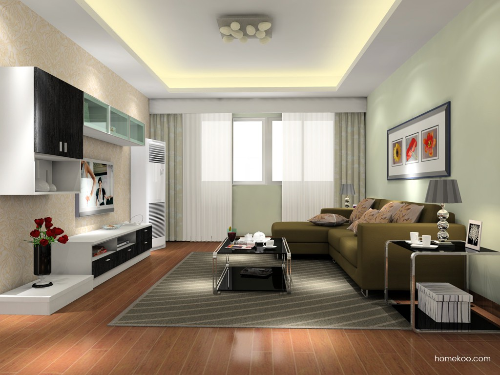 简约主义客厅家具D15613