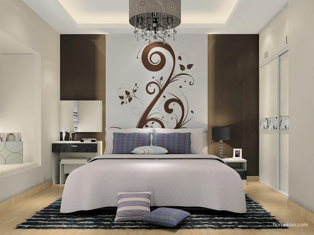 米兰剪影卧房家具A15762