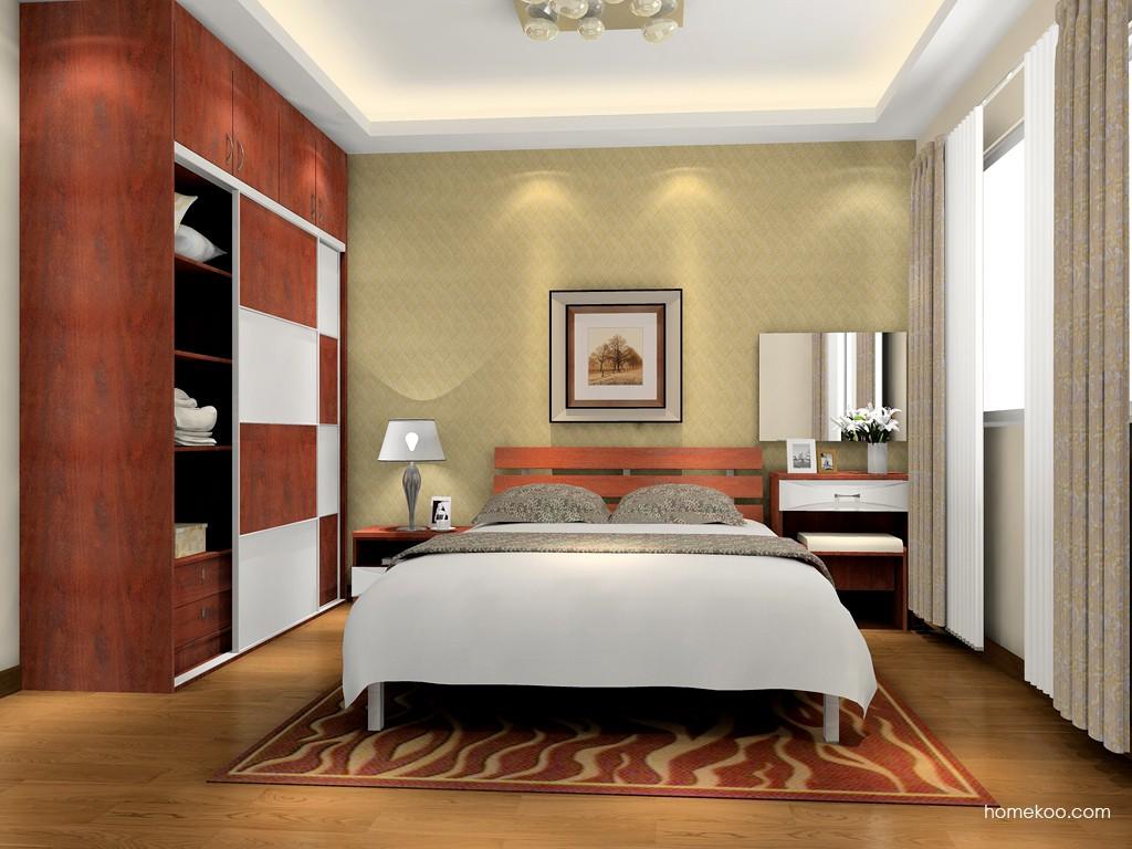 挪威月色卧房家具A15763