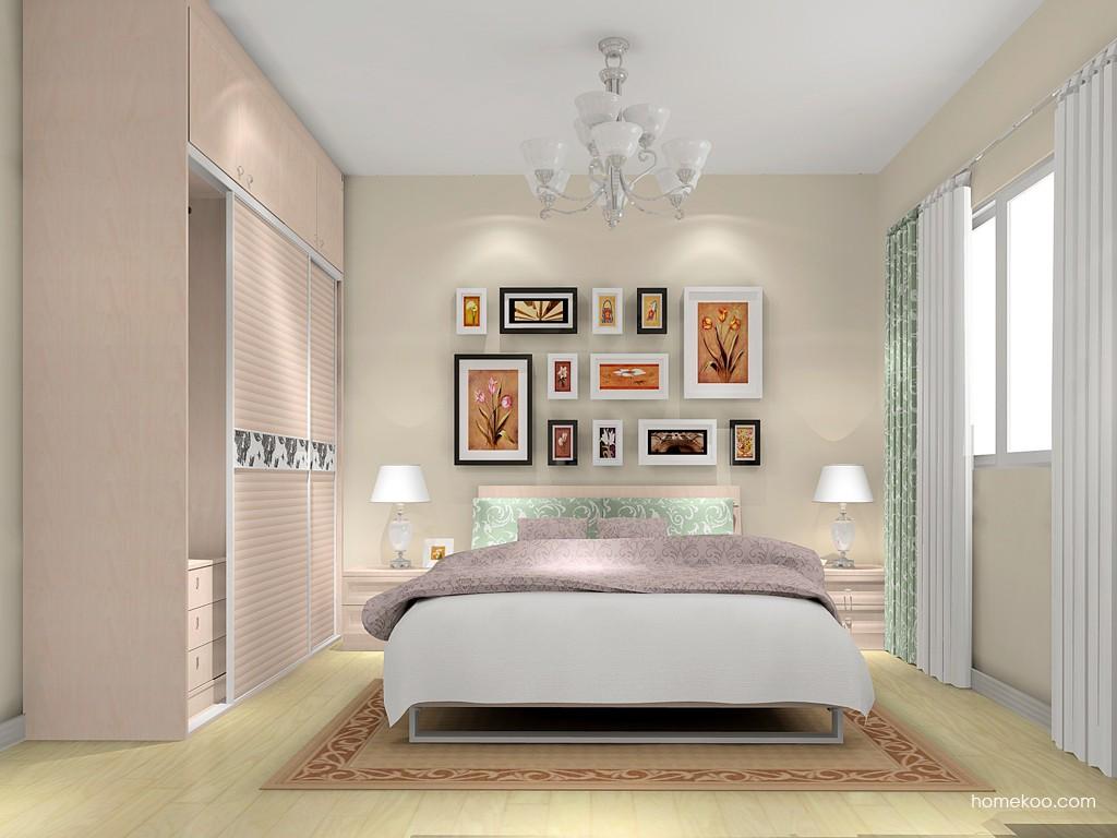 北欧阳光卧房家具A15765