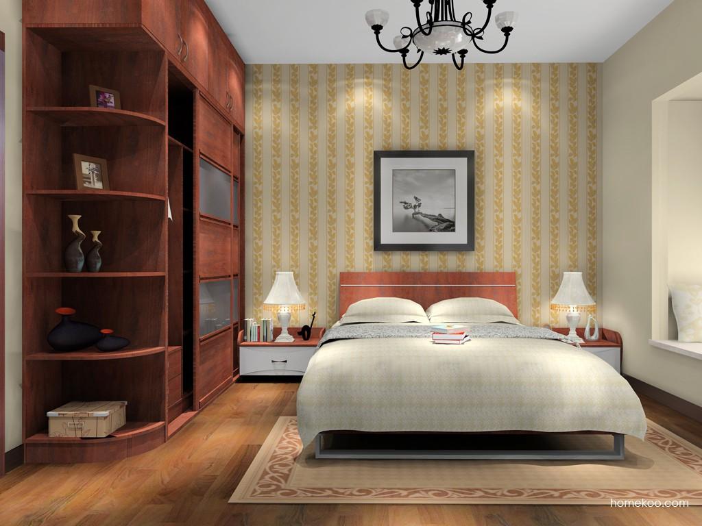 挪威月色卧房家具A15771