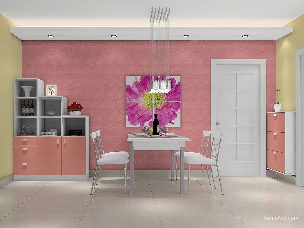 浪漫主义餐厅家具E14809