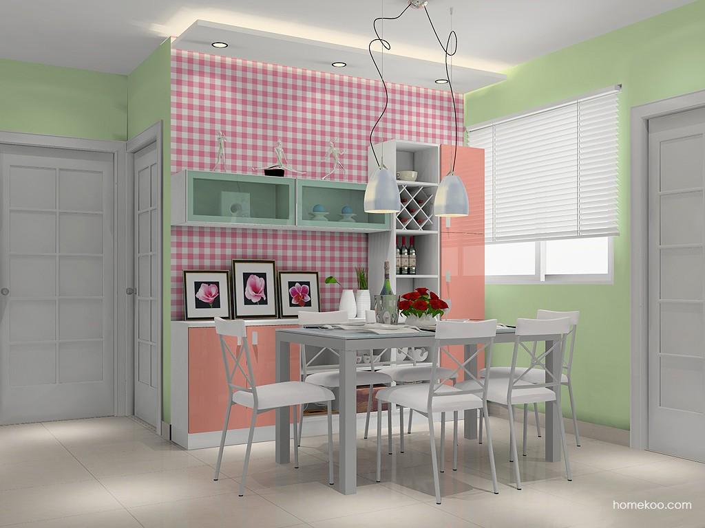 浪漫主义餐厅家具E14816
