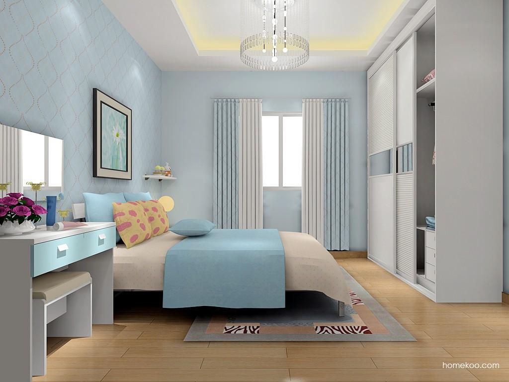 浪漫主义卧房家具A15811