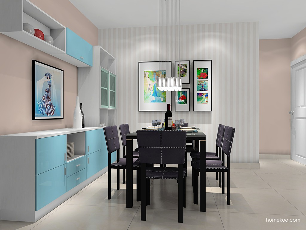 新实用主义餐厅家具E14826