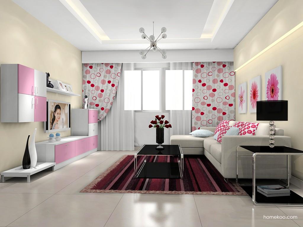 新实用主义客厅家具D15631