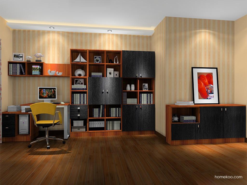 德国森林书房家具C15371