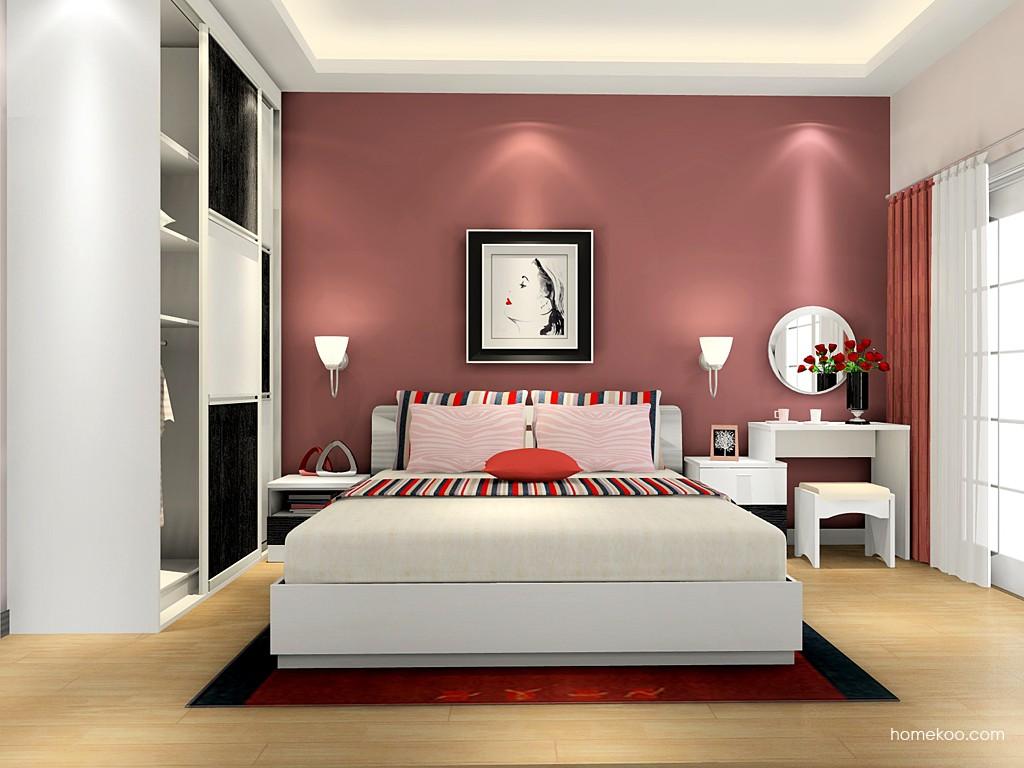 简约主义卧房家具A15865