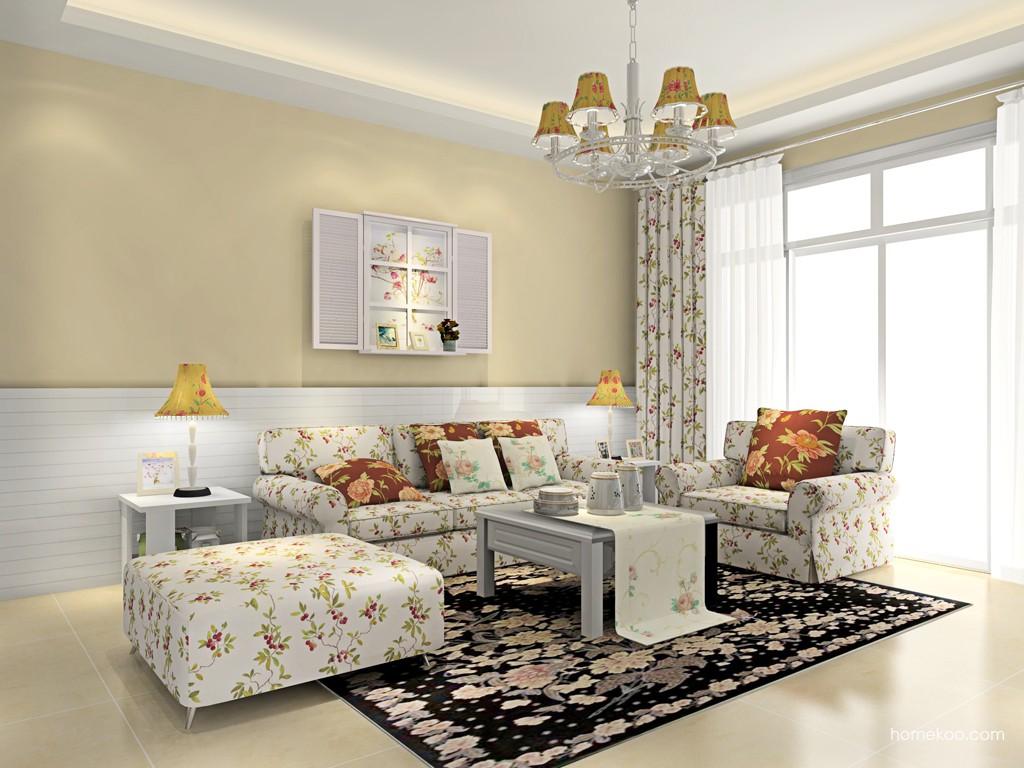 韩式田园客厅家具D15650