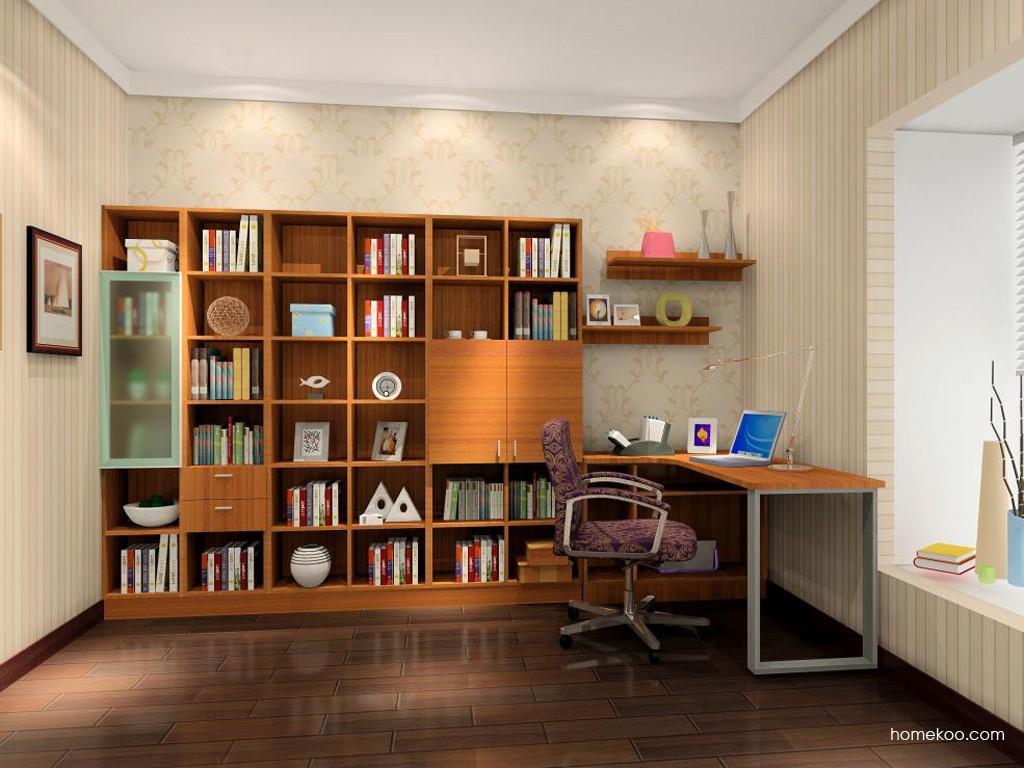 新实用主义书房家具C15376
