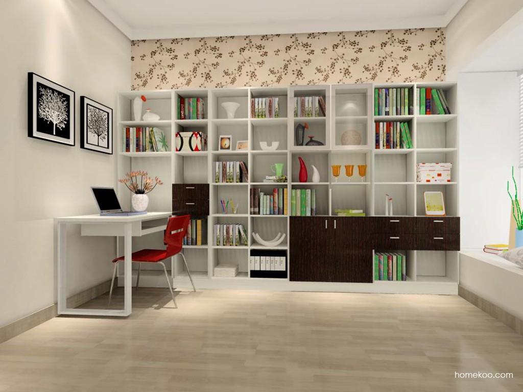 简约主义书房家具C15383