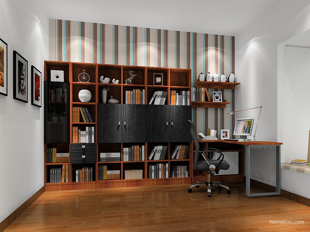 德国森林书房家具C15413