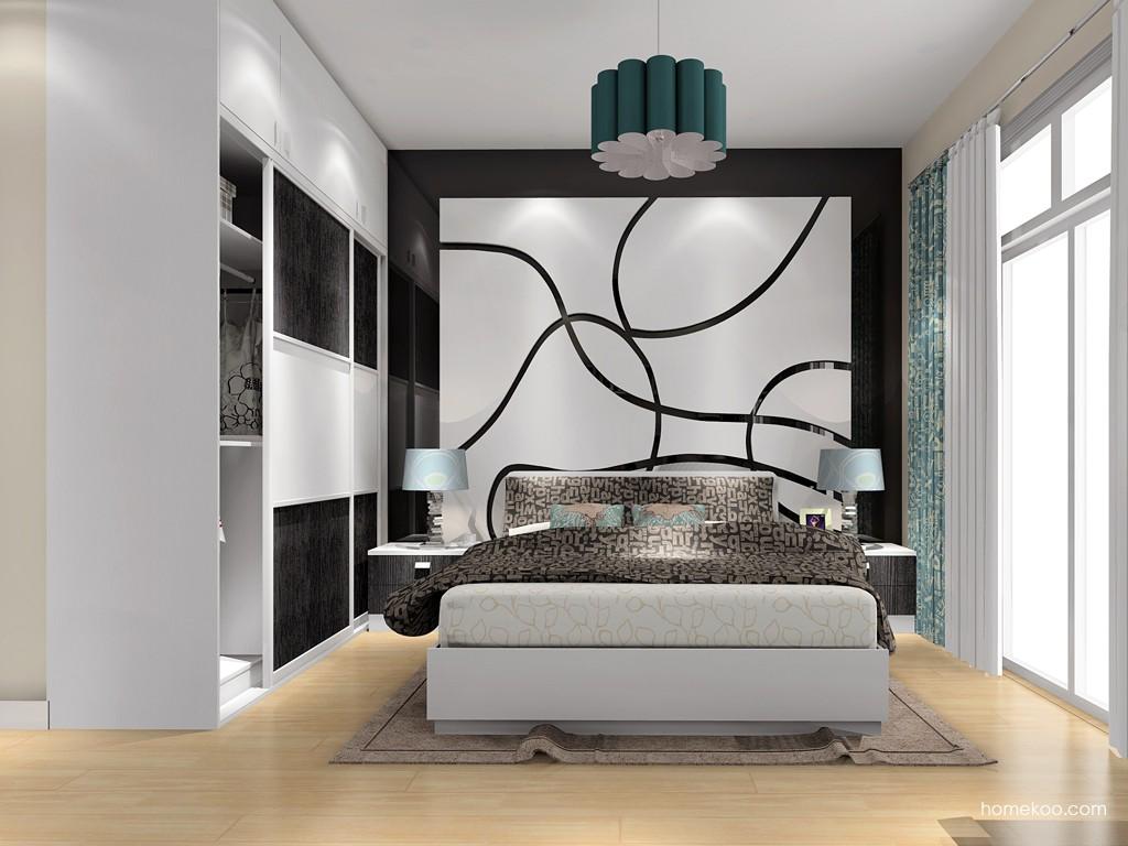 简约主义卧房家具A15937