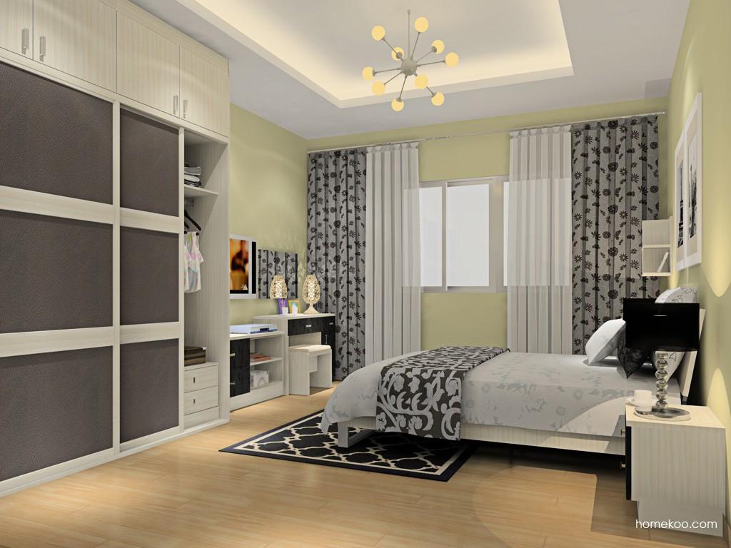 米兰剪影卧房家具A15945