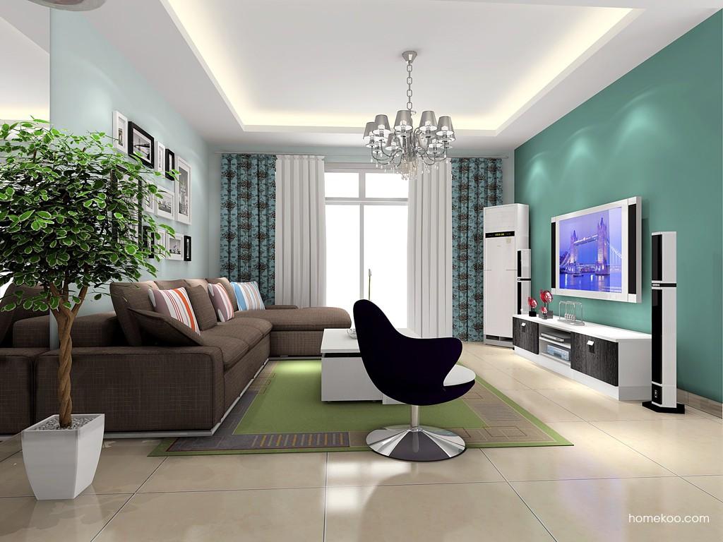 简约主义客厅家具D15661