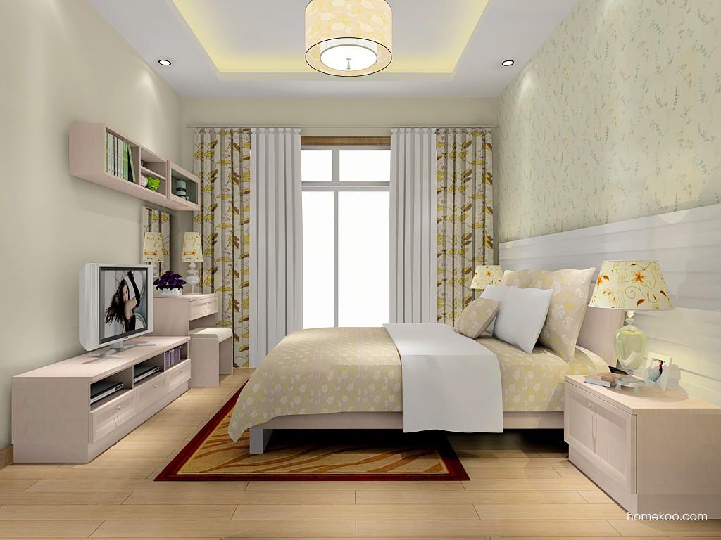 北欧阳光卧房家具A15952