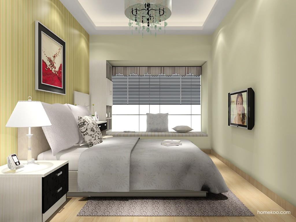 米兰剪影卧房家具A15956