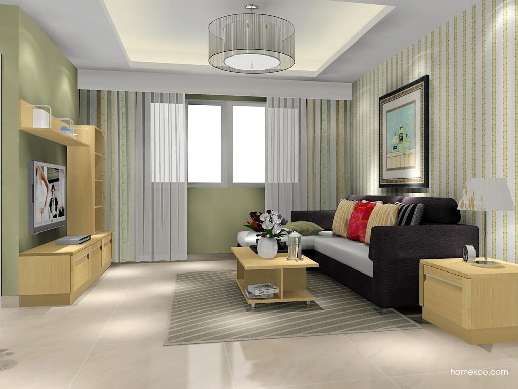 丹麦本色客厅家具D15666