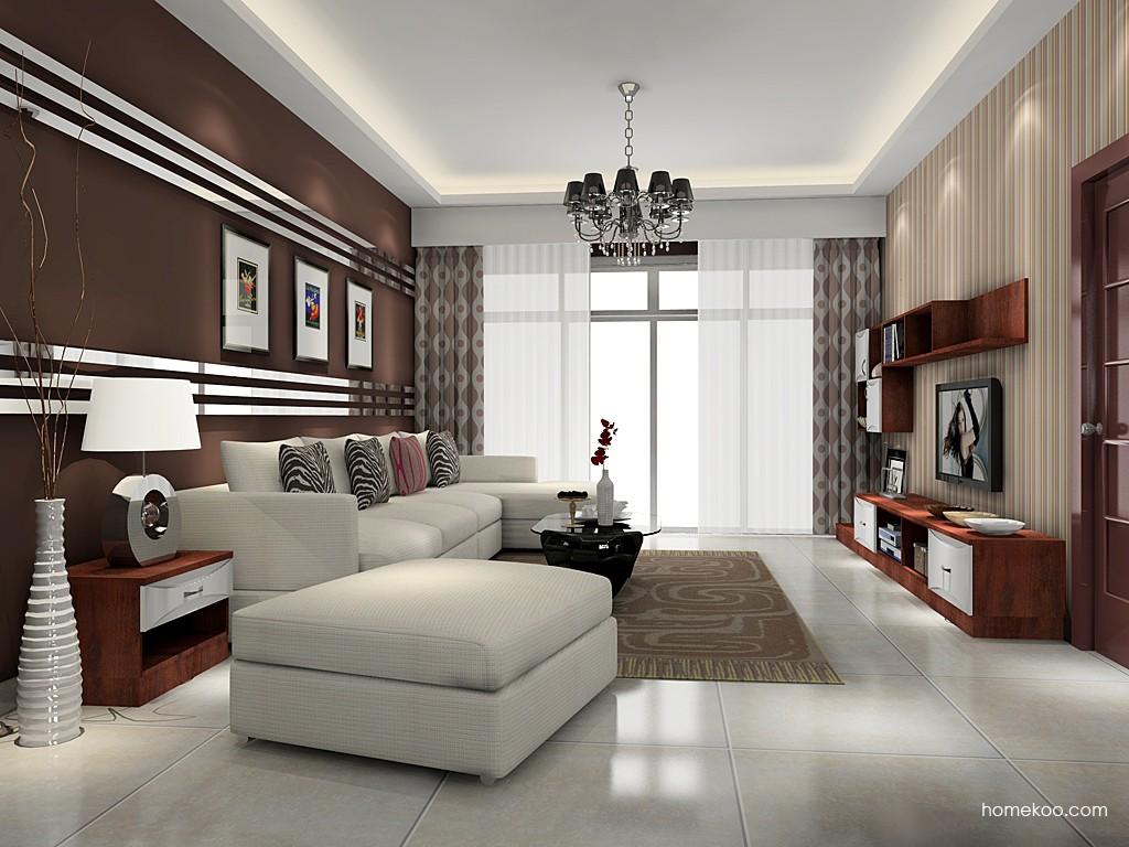 挪威月色客厅家具D15668