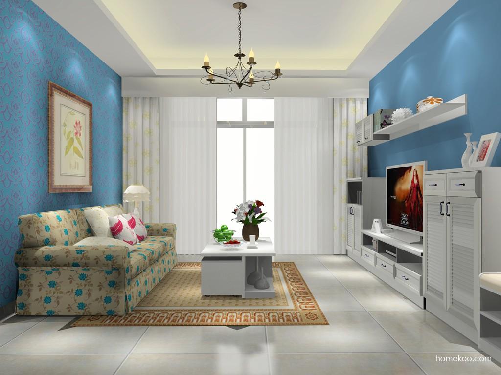 韩式田园客厅家具D15669