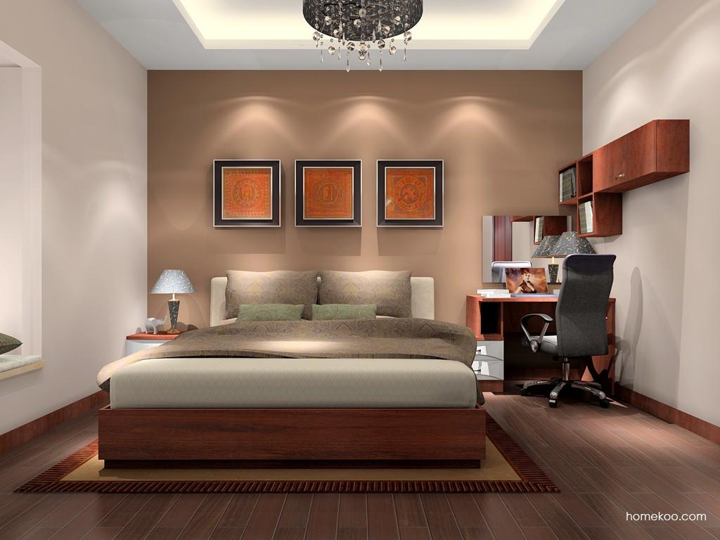 挪威月色卧房家具A15979