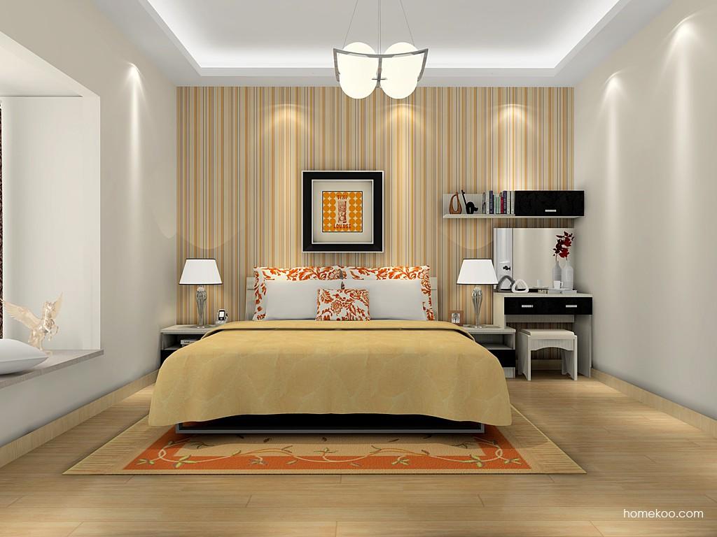 米兰剪影卧房家具A15982